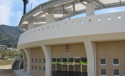中津川公園野球場